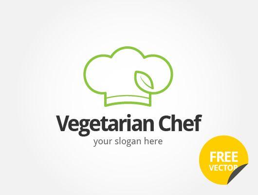 530x400 Vegetarian Chef Logo (Vector) Logoranding Inspiration