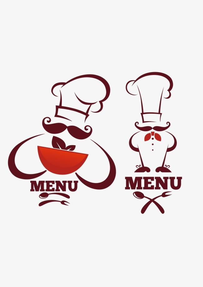 650x919 Western Chefs Logo Vector Material, Logo Vector, Mark, Menu Png