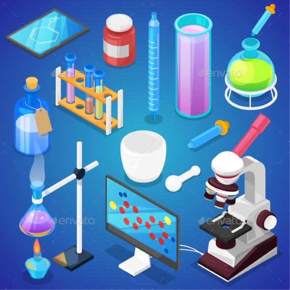 590x590 Chemistry Vector Chemical Science Or Pharmacy By Pantimetrok