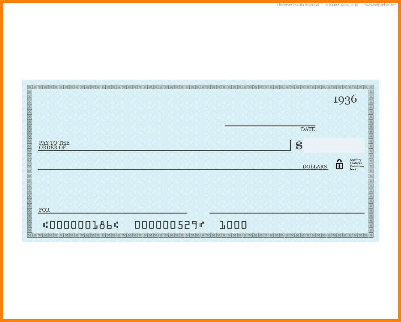 1298x1042 Dummy Cheque Vector It Cover Letter