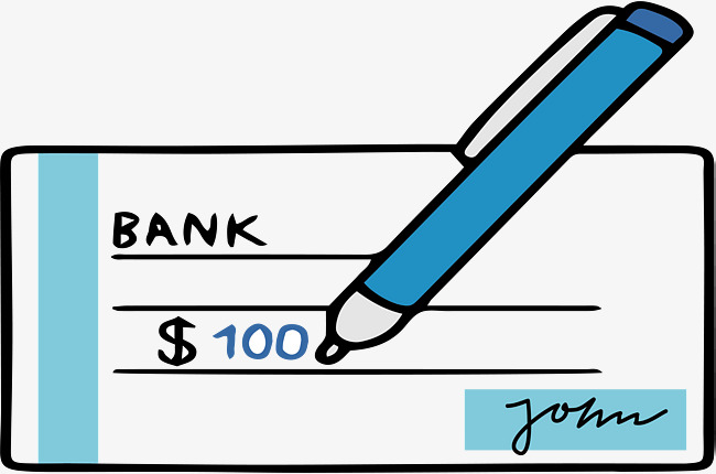 650x430 Signature Of Cheque Book, Book Vector, Vector Png, Hand Drawn