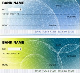 280x255 Cheque Template Search Results Free Vector Graphics And Vector