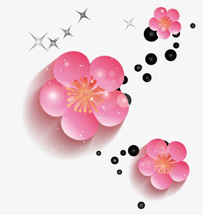 650x687 Cherry Petals, Vector Petals, Cherry Blossoms Png And Vector For
