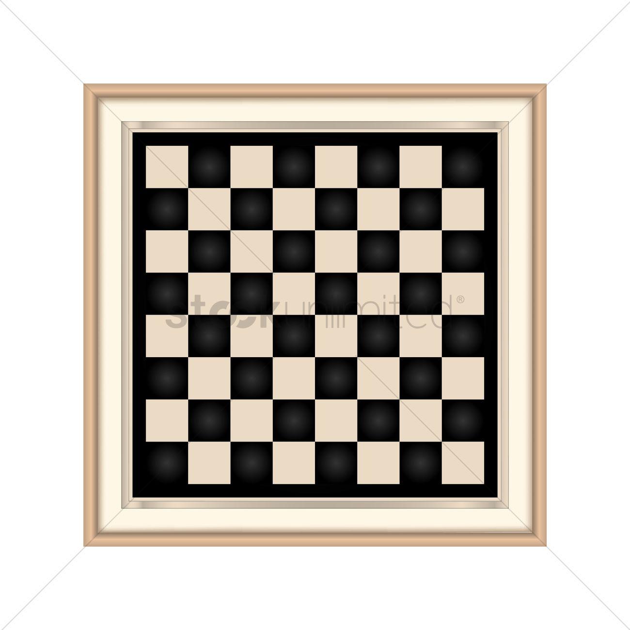 1300x1300 Chessboard Vector Image