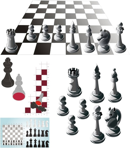 525x600 Chessboard Vector Free Free Vector Download (21 Free Vector) For