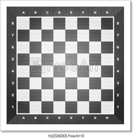 561x581 Free Art Print Of Empty Chess Board. Empty Chess Board. Vector