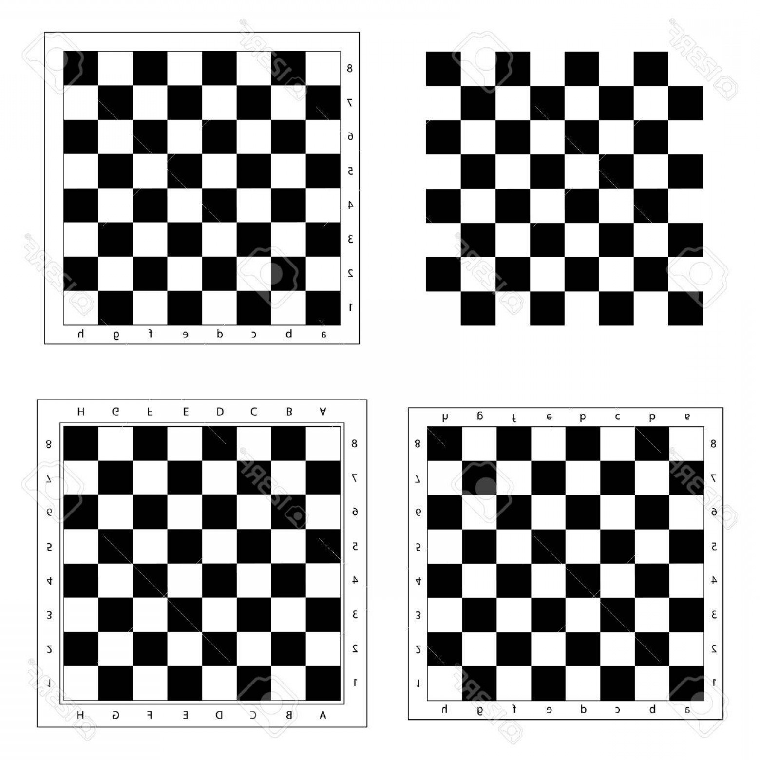 1560x1560 Photostock Vector Chess Board Vector Chess Board Isolated Modern