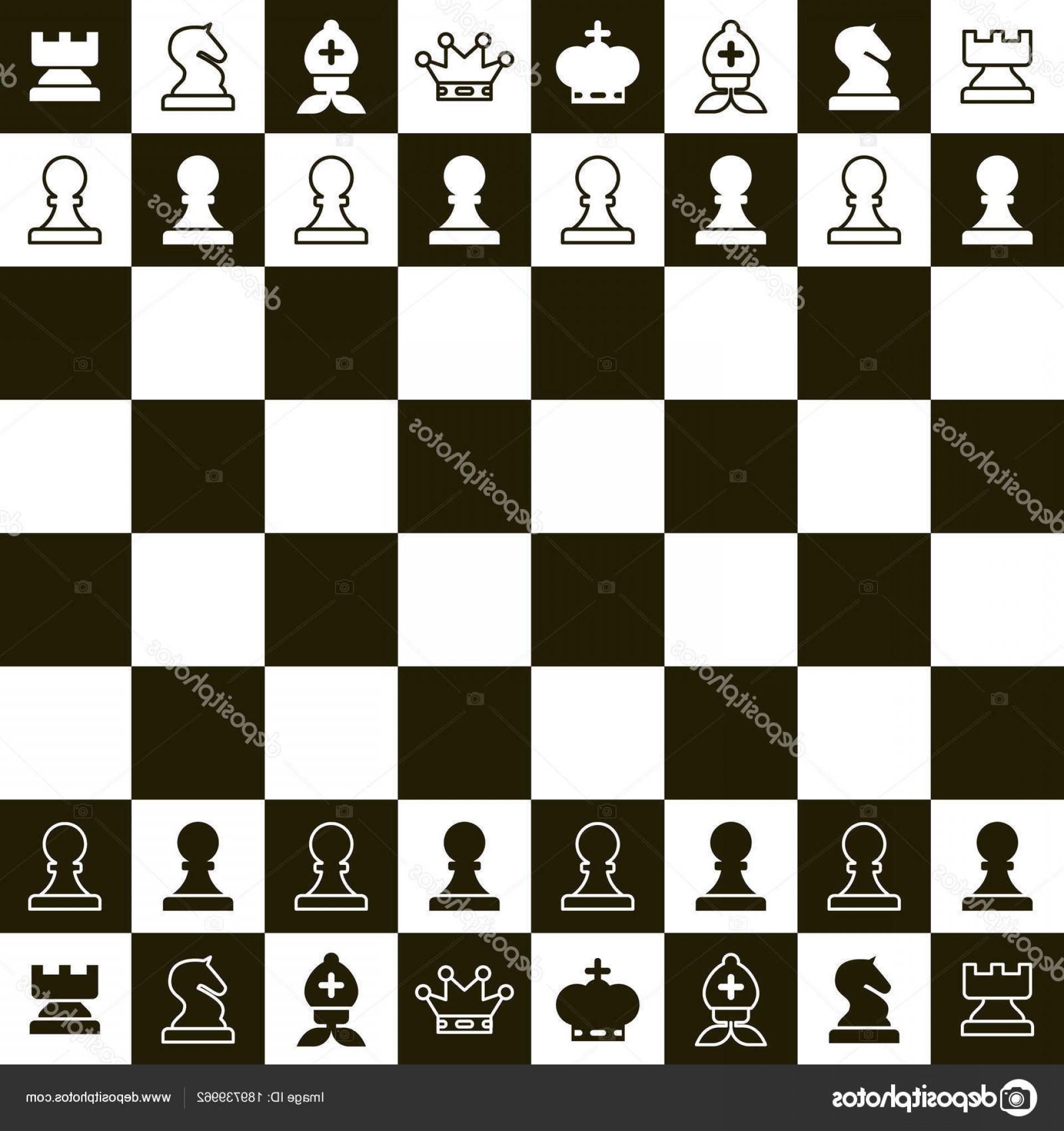 1920x2040 Stock Illustration Chess Board Vector Top View Lazttweet