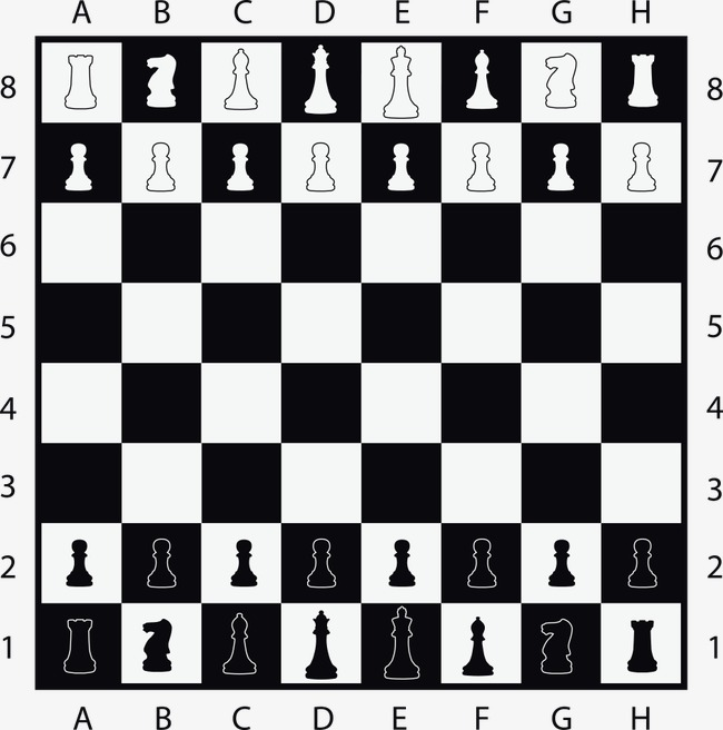 650x656 Vector Chess Game Chess, Game Vector, International Chess