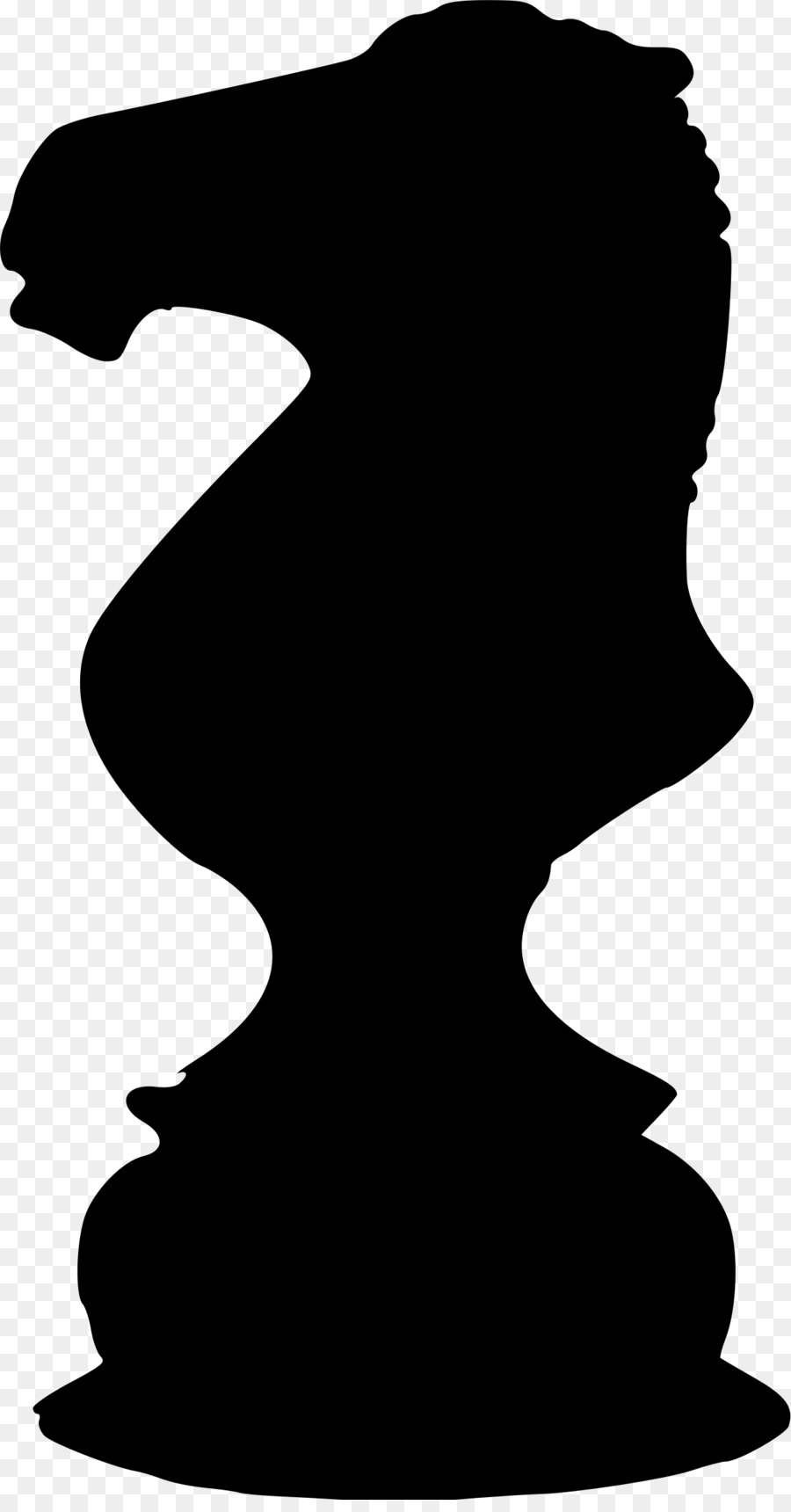900x1720 Royalty Free Knight Chess Piece 370631 Vector Clip Art Image