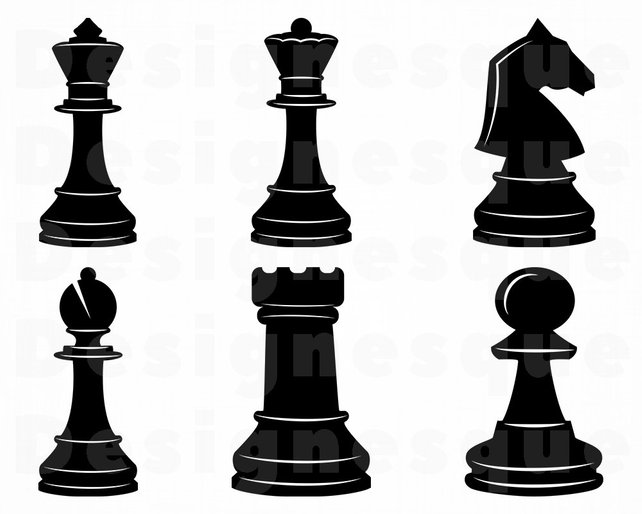 642x514 Chess Svg Chess Pieces Svg Chess Clipart Chess Cut Files Etsy