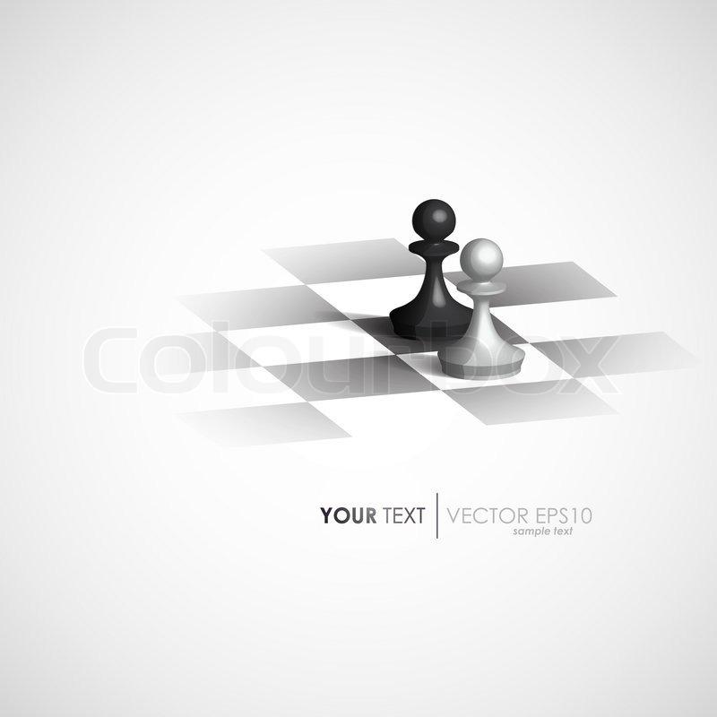 800x800 Minimalist Design Vector Chess Stock Vector Colourbox