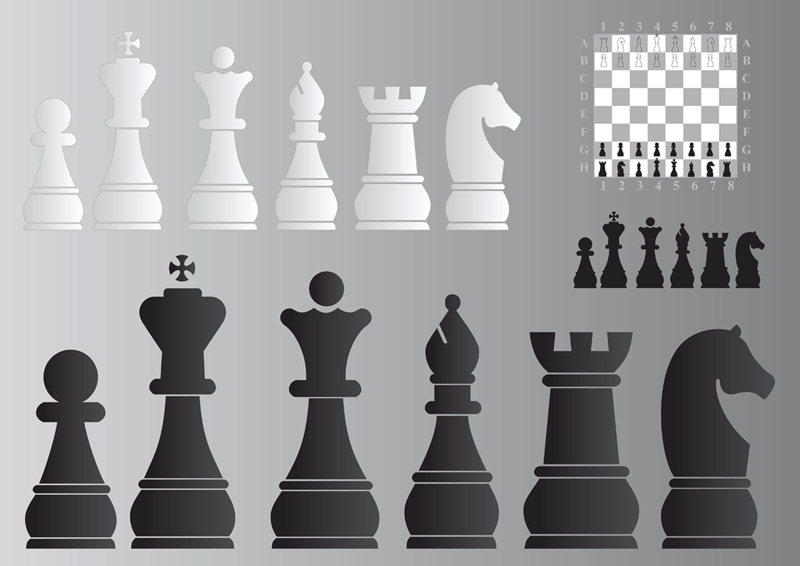 800x566 Chess Board And Pieces Free Vectors Ui Download