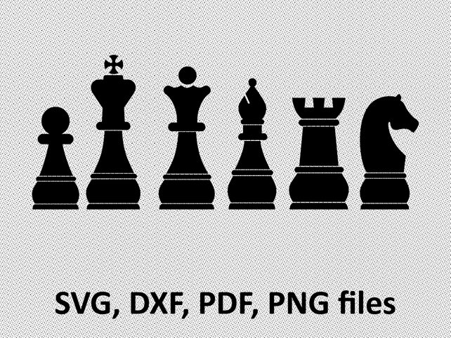642x482 Chess Svg Chess Dxf Chess Clipart Chess Files Printing Etsy