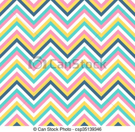 450x441 Seamless Colorful Chevron Vector Pattern. Seamless Colorful