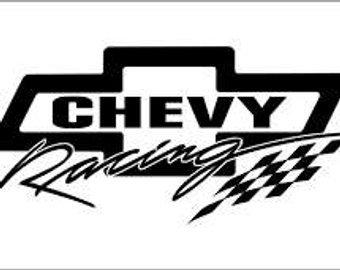 340x270 Chevy Racing Decal Etsy Chevy Bowtie Logo Chevrolet Logo Vector