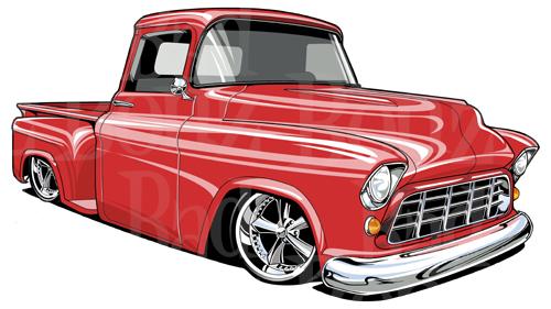 500x281 1957 Chevy Truck Bad Bonz Designs