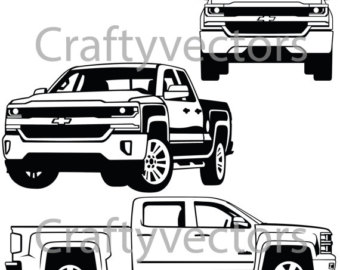 340x270 Chevy Lowered Custom Trucks Etsy