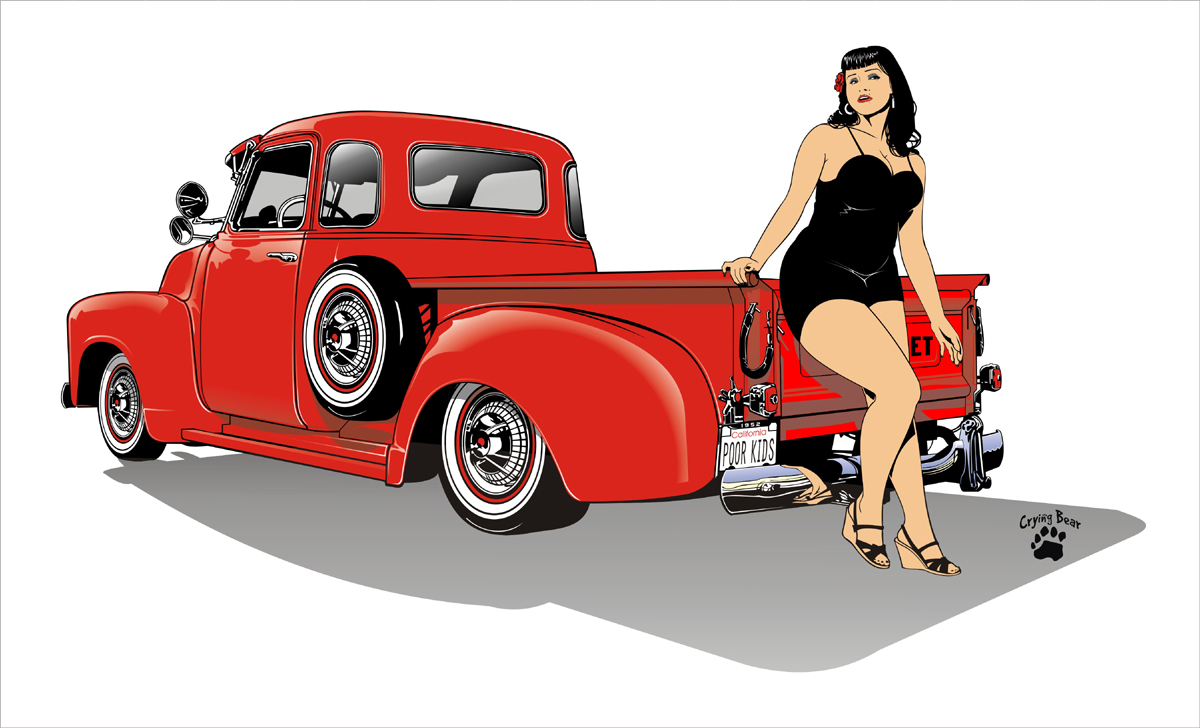 1200x728 1940 Chevy Truck By Cryingbear