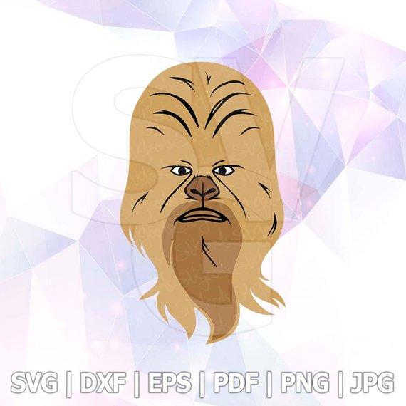 570x570 Svg Star Wars Master Yoda Chewbacca Dxf Eps Pdf Vector Files Etsy