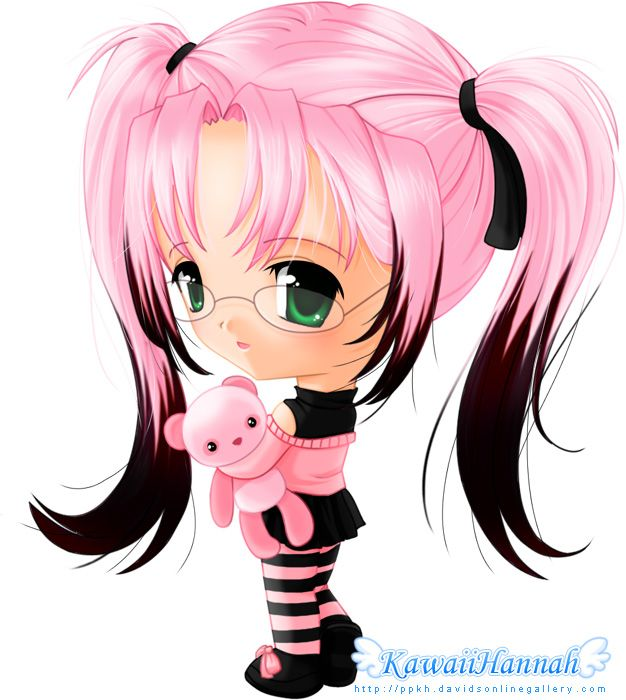 626x700 Vector Illustration Inspiration Cute Chibi Character Designs In