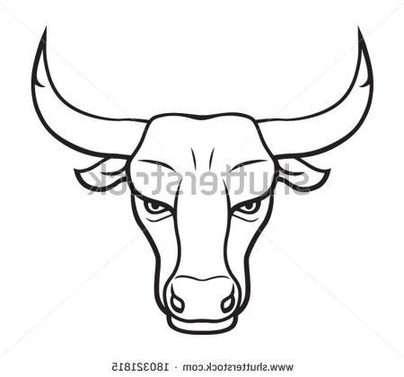 450x420 How To Draw Chicago Bulls Coloring Pages For Kids Stock Vector