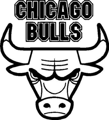 433x480 Bulls Clipart Chicago Bulls