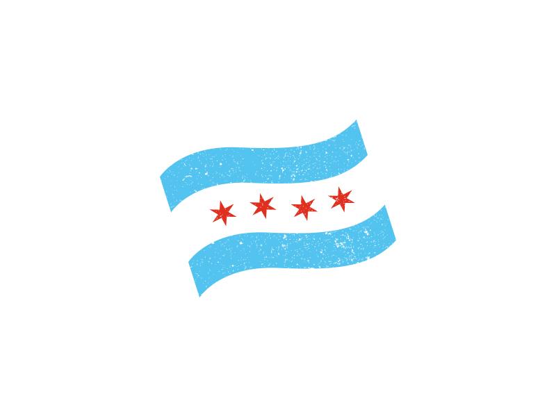 800x600 Chicago Flag By Nicky Mazur