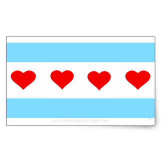 324x324 Clipart Of Chicago Flag Collection