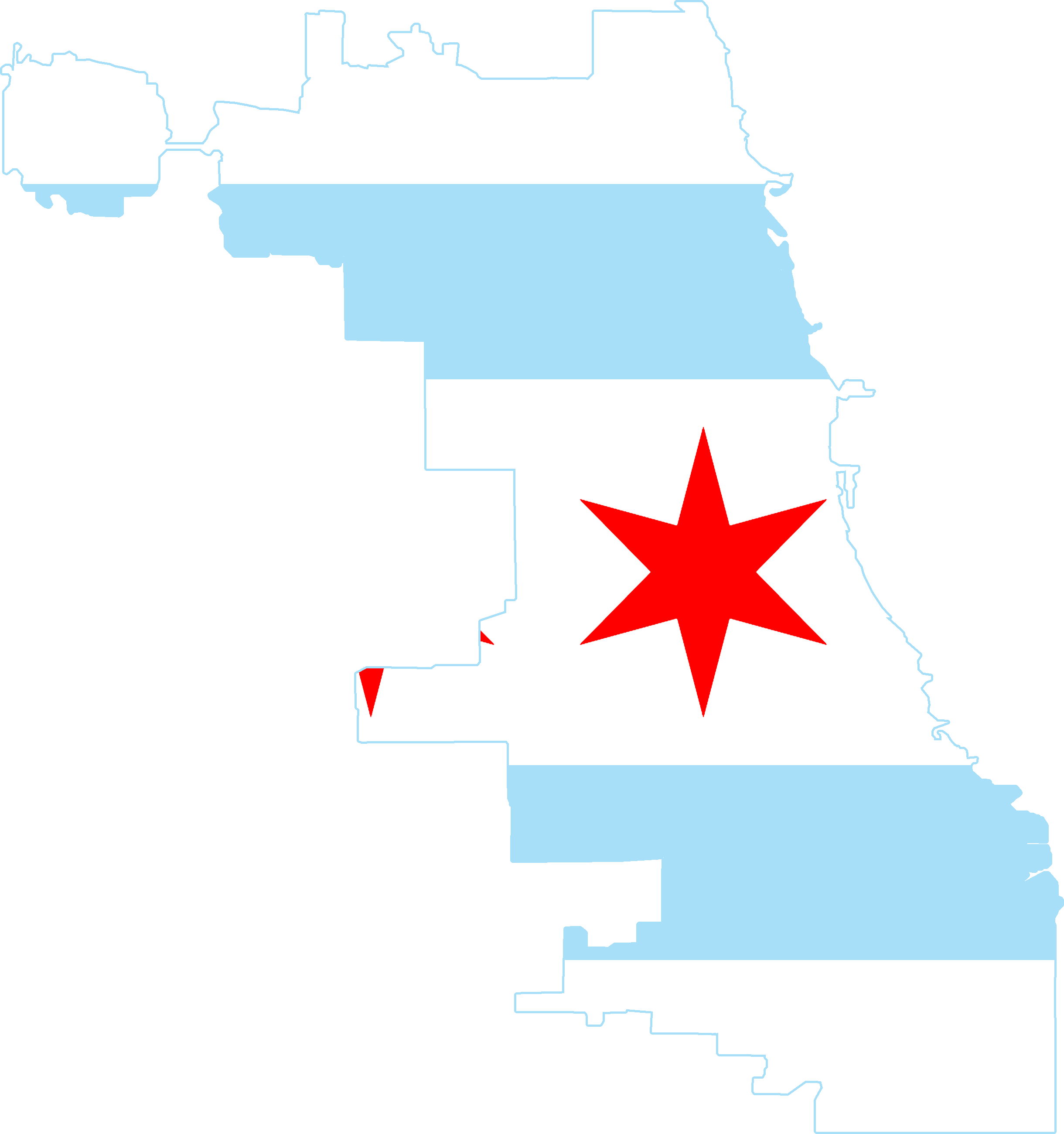 2440x2601 19 Chicago Vector Map Huge Freebie! Download For Powerpoint