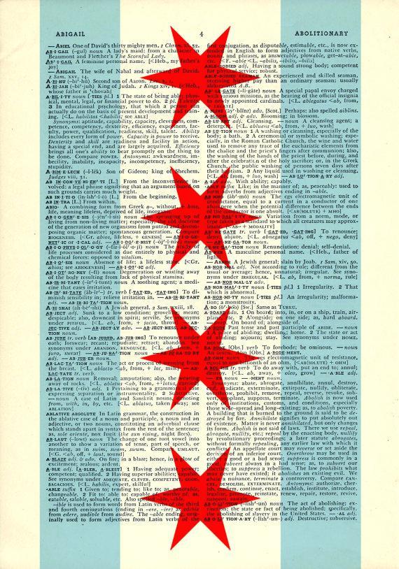 570x814 Chicago Flag Art Flag Dictionary Art Stars On Vintage Dictionary