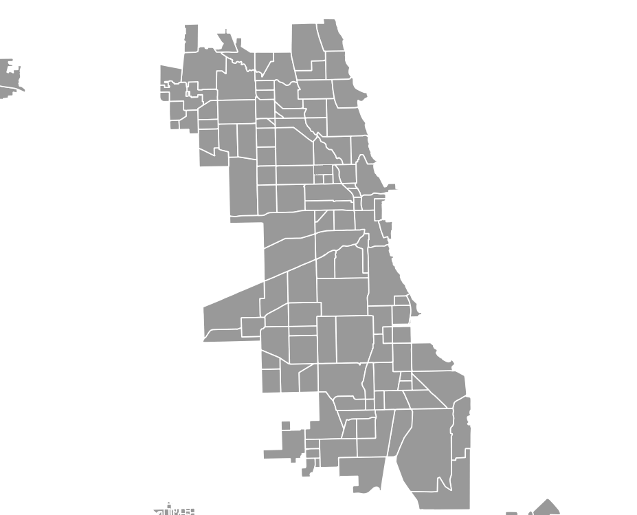 Chicago Map Vector
