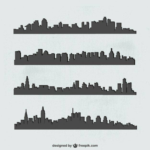 626x626 Chicago Skyline Vectors, Photos And Psd Files Free Download