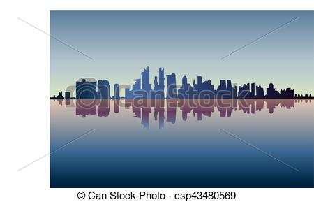 450x289 City Of Chicago Silhouette