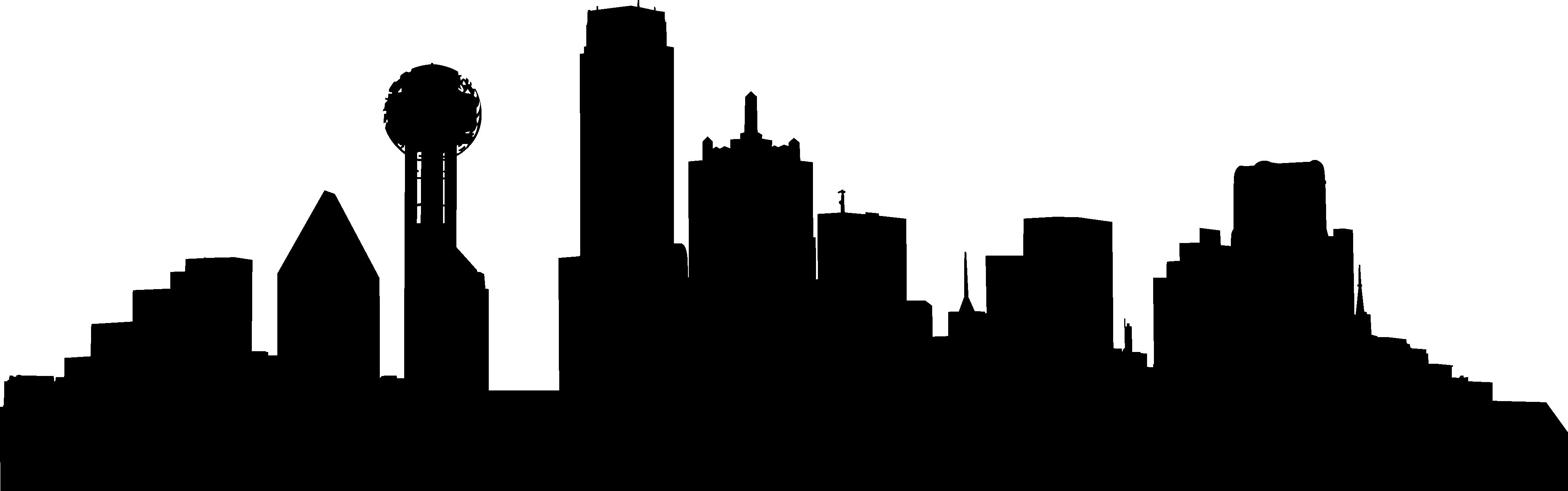 4116x1289 Vector Skyline