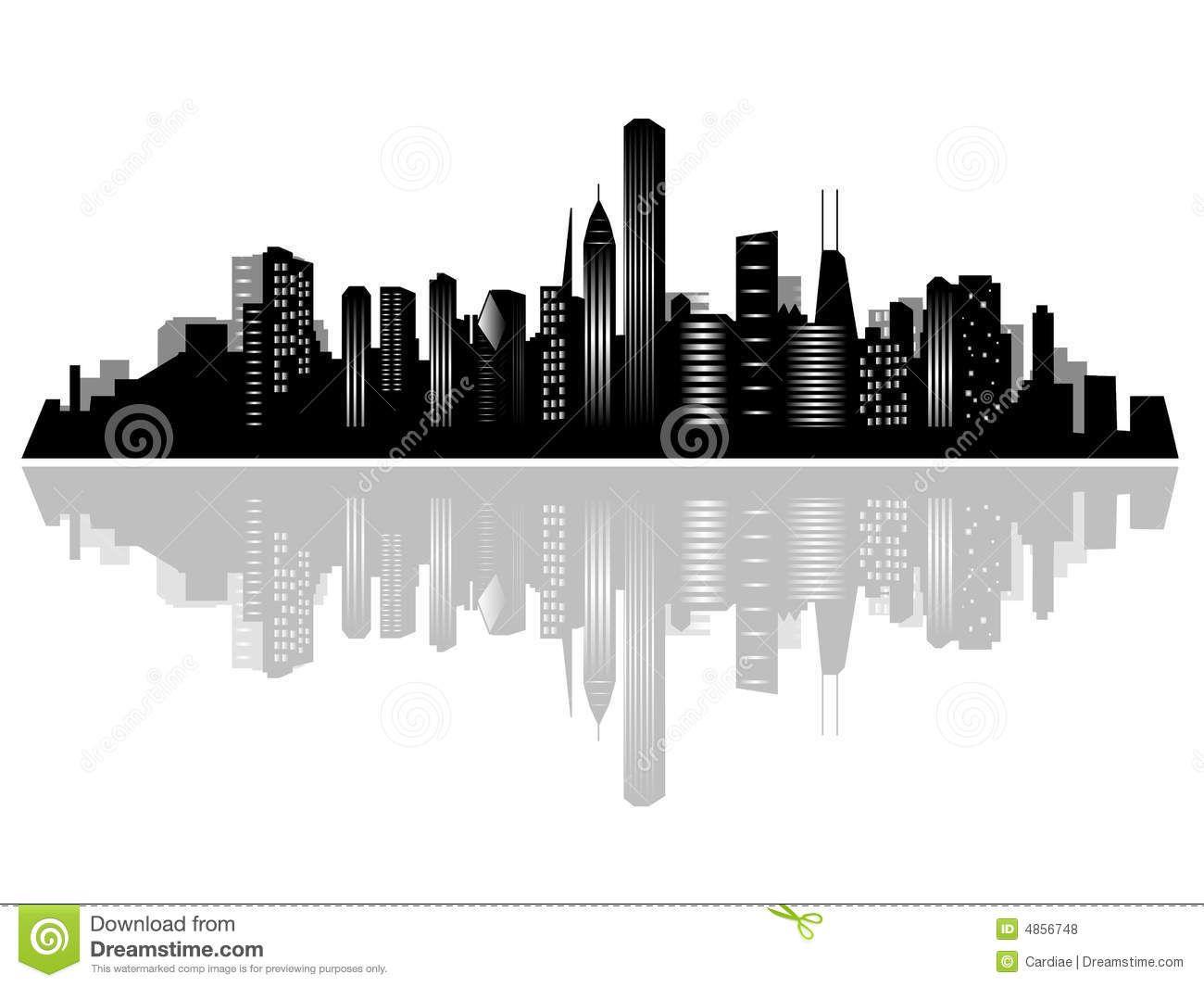 1300x1065 Miami Clipart Chicago Skyline