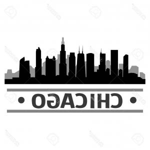 300x300 Royalty Free Stock Images Chicago Morning Skyline Vector Cityscape
