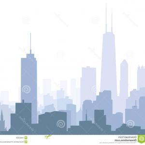 300x300 Stock Photo Chicago City Skyline Detailed Silhouette Vector