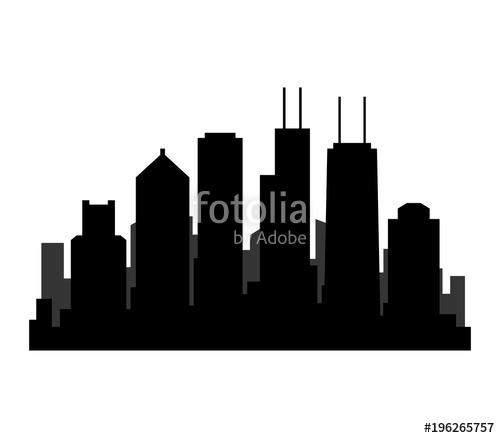 500x438 Chicago Skyline Stock Image And Royalty Free Vector Files On
