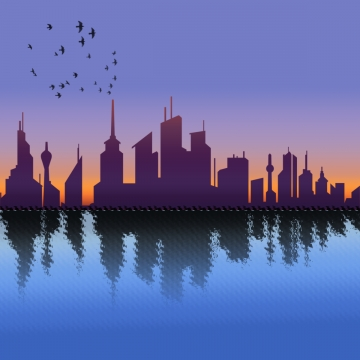 360x360 Chicago Skyline Png, Vectors, Psd, And Clipart For Free Download