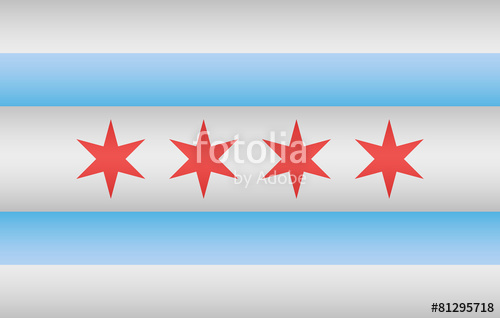 500x318 Chicago City Flag Stock Image And Royalty Free Vector Files On