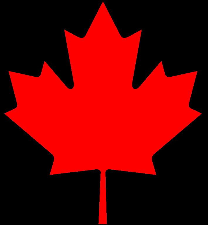 710x768 Fileflag Of Canada (Leaf).svg
