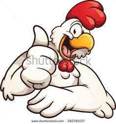 236x251 Chicken Head Vector Illustration