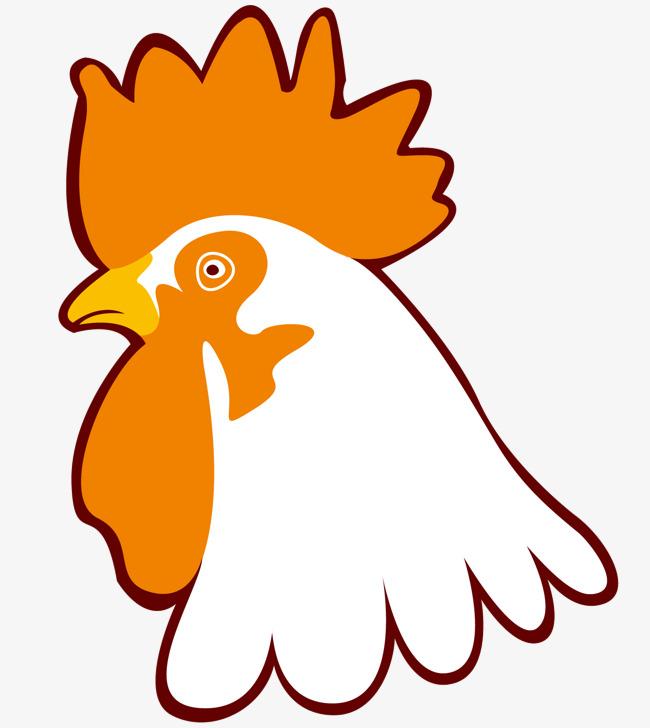 650x728 A Cartoon Cock Head, Vector Diagram, Cartoon Cock, Yellow Comb Png