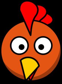 219x297 Chicken Head Clip Art