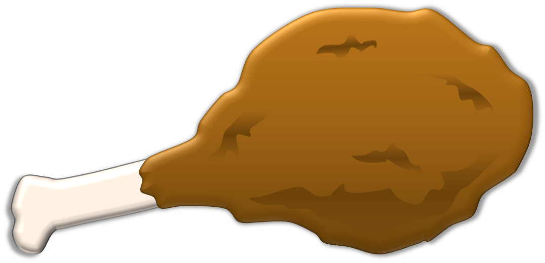 Chicken Leg Vector