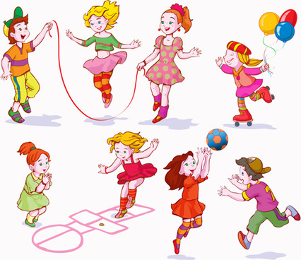 426x368 Free Vector Children Playing Free Vector Download (2,470 Free