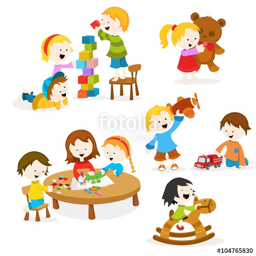 500x500 Kids Playing With Toys Stock Image And Royalty Free Vector Files