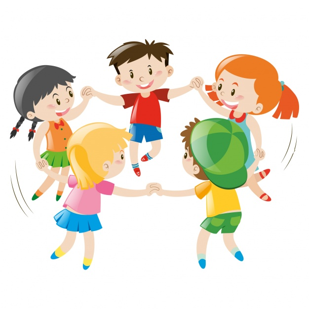 626x626 Kids Playing Design Vector Free Download