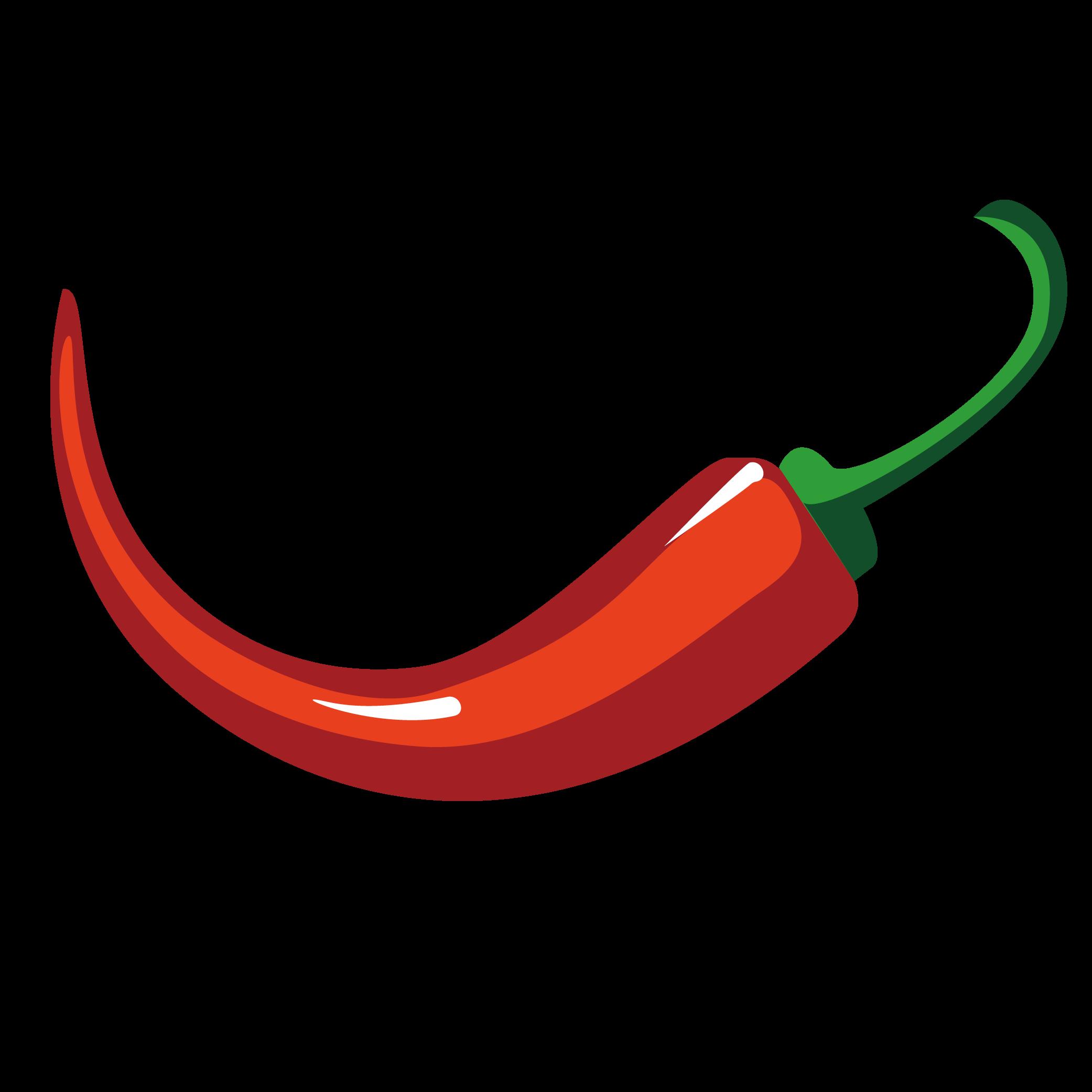 2083x2083 Capsicum Annuum Chili Pepper Euclidean Vector